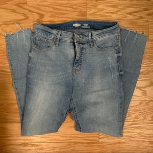 Old navy high rise skinny jeans
